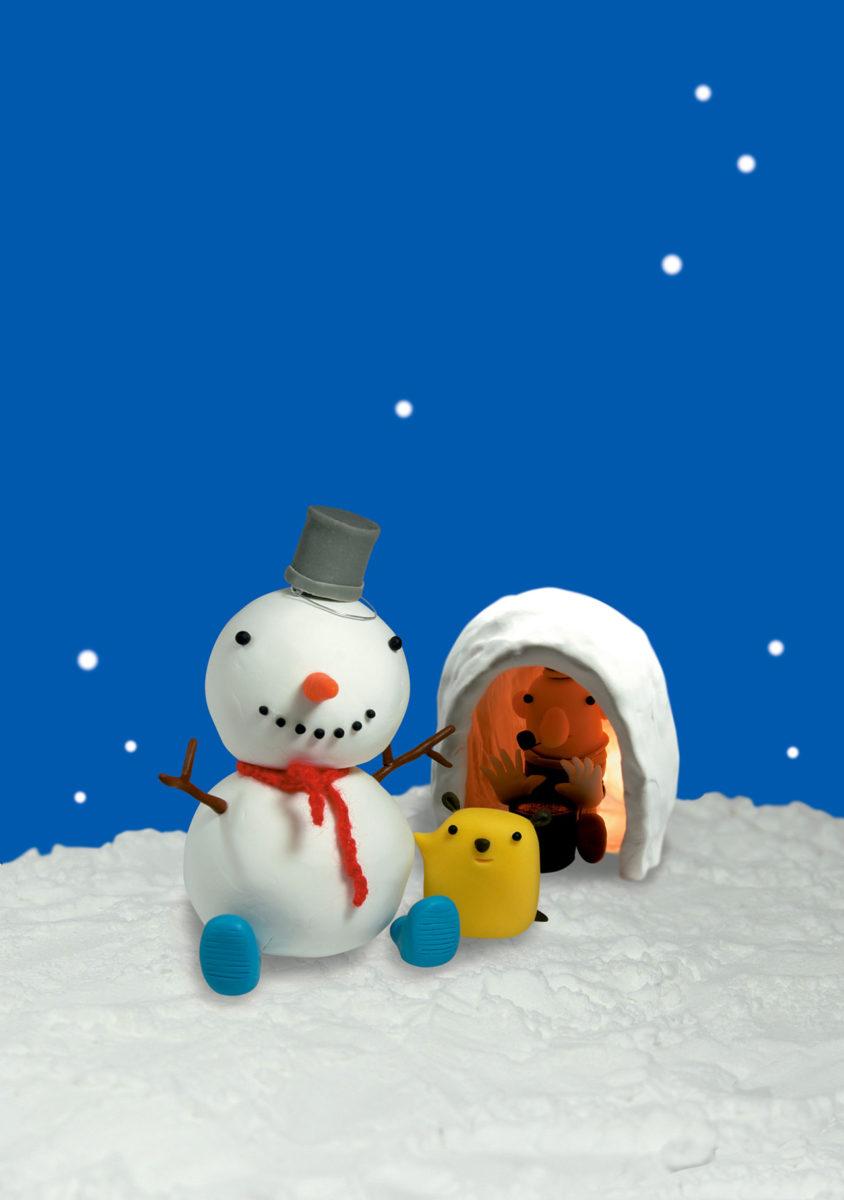 静岡新聞社情報誌7号 「かまくらと雪だるま」
